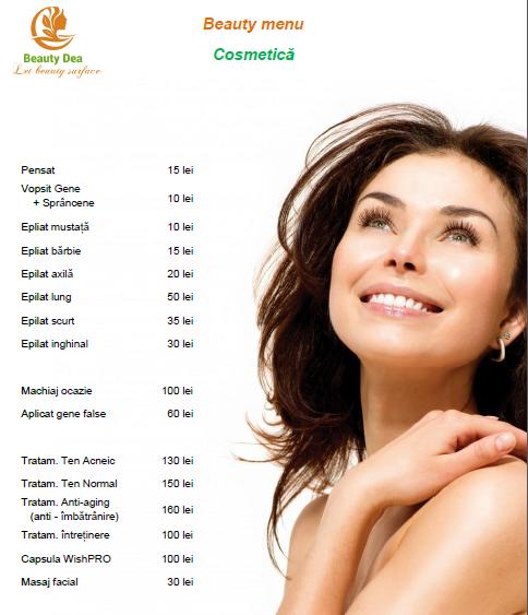 Preturi Cosmetica Beauty Dea Brasov Salon Beauty Dea