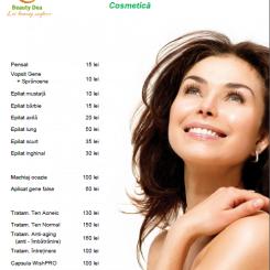 Preturi cosmetica-machiaj Beauty Dea Brasov